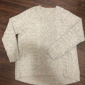 LOFT Sweaters - XL Loft Heather Oatmeal Sweater